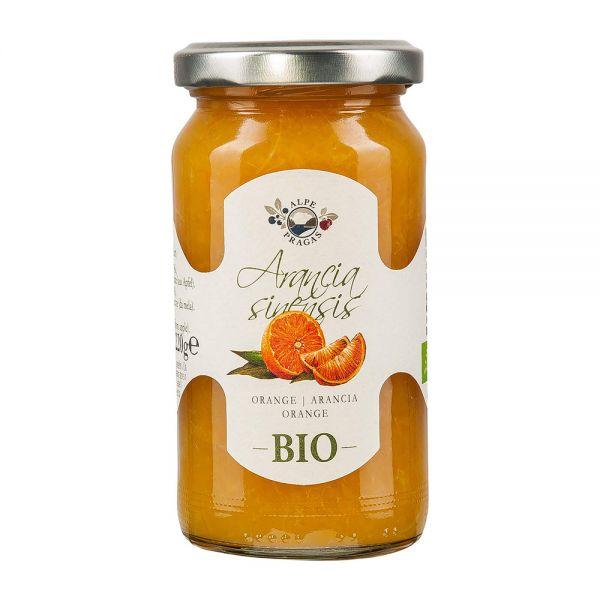 Alpe Pragas   Orange   220g   Fruchtaufstrich [BIO]