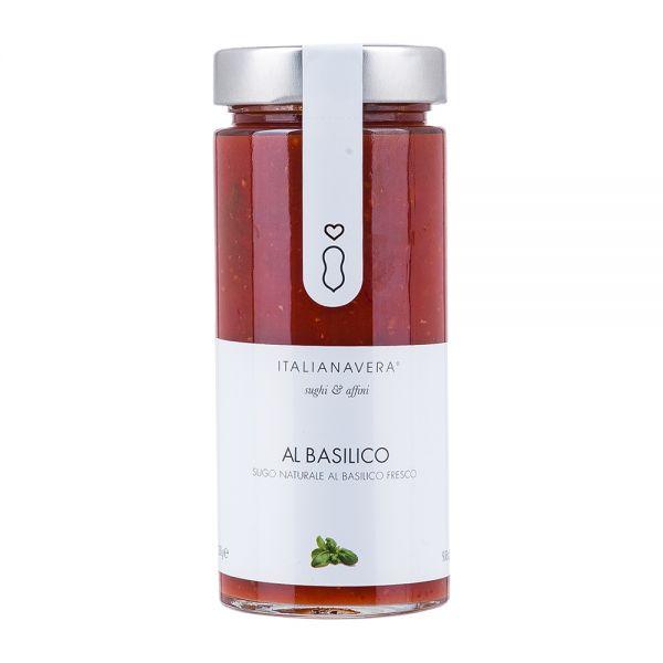 Italianavera   Tomaten Basilikum Sauce