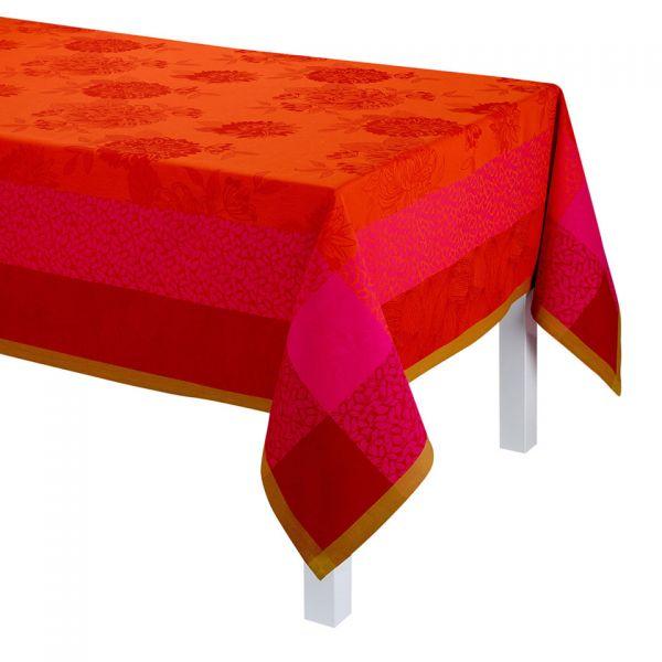Tischdecke | Parfum de Bagatelle | Rot