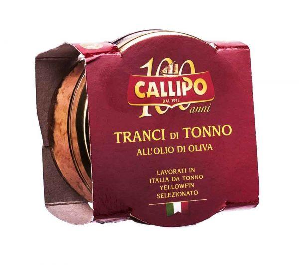 Callipo | Gelbflossen Thunfisch in Olivenöl | 160g