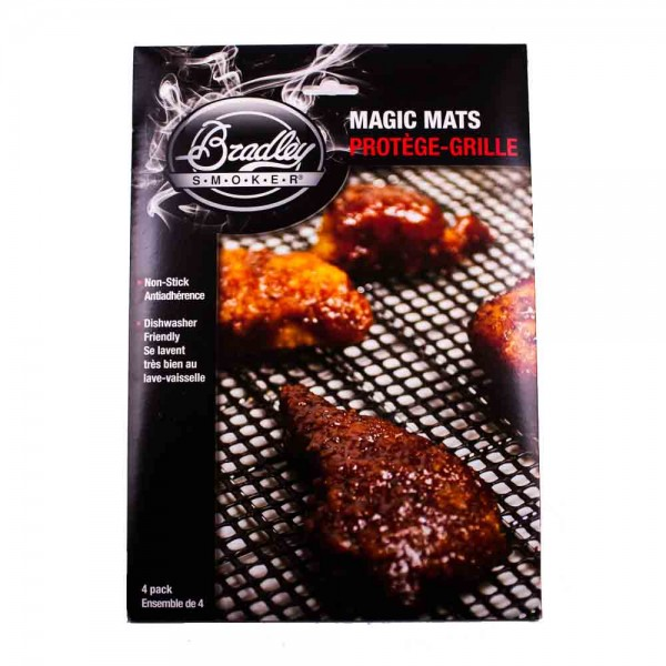 Bradley Smoker Magic Mats 4er Set Antihaft Matten