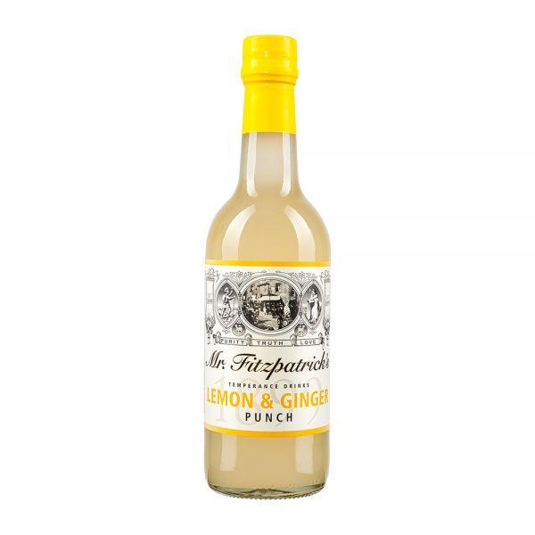 Mr Fitzpatricks | Lemon Ingwer Sirup | alkoholfrei