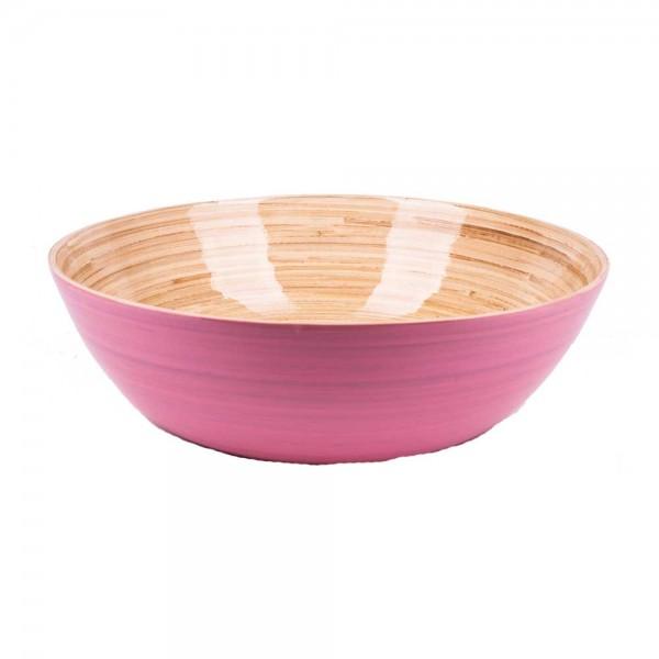 Albert L Schüssel Bambus 30x10 rosa