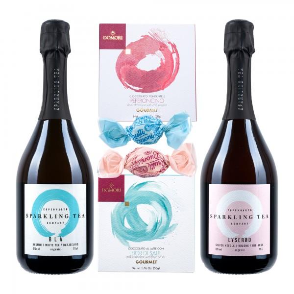 Copenhagen Sparkling Tea | Geschenk mit Domori | alkoholfrei