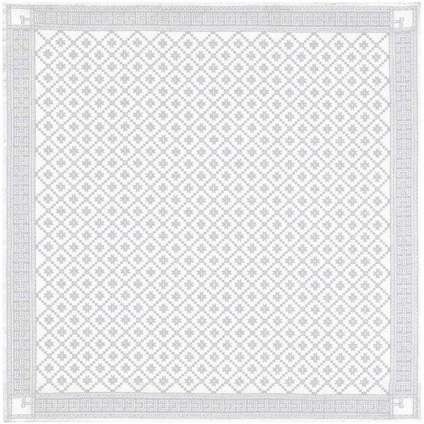 Ekelund | Attebladrose Tischdecke 080 | 150x150cm