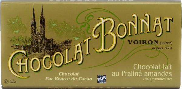 Bonnat Schokolade | Lait au Praline Amandes 55%