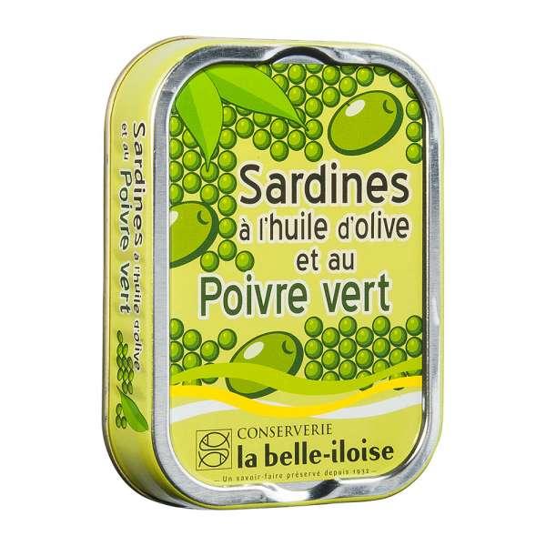 La belle iloise | Ölsardinen mit grünem Pfeffer | 115g