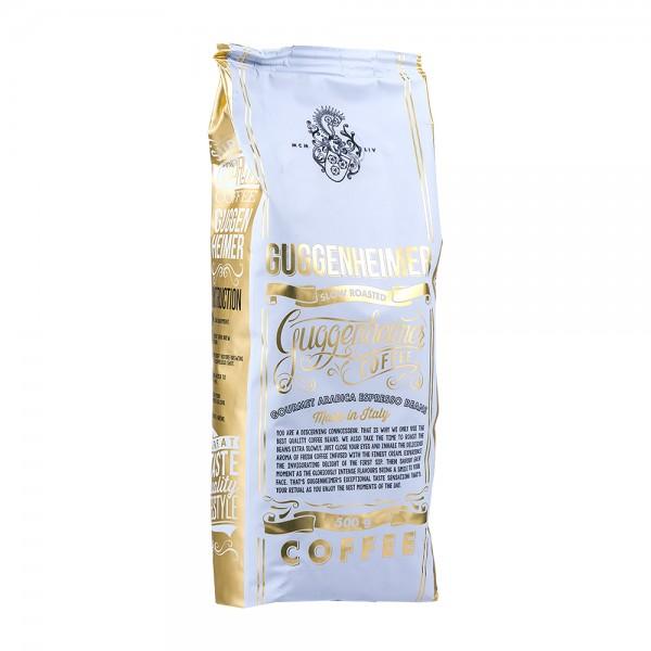 Guggenheimer Kaffee Gourmet Arabica Bohnen 500g