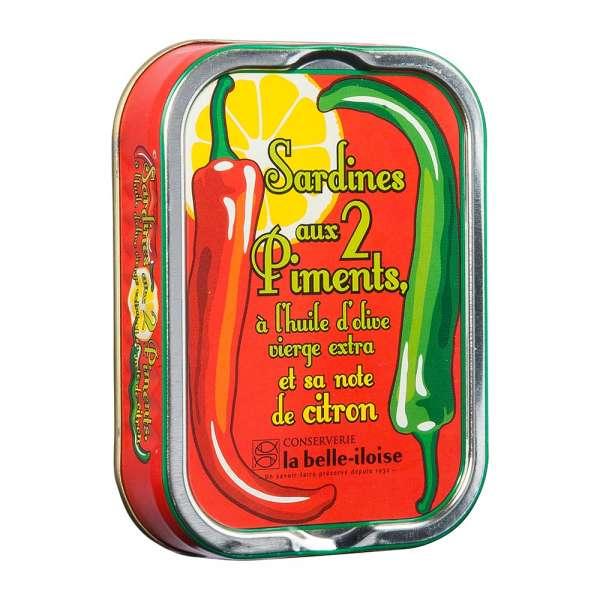 La belle-iIloise | Sardinen mit 2 Sorten Chili | 115g