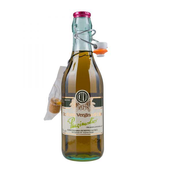 Calvi   Olivenöl Extra Nativ   Pinzimolio in der Bügelflasche   500ml