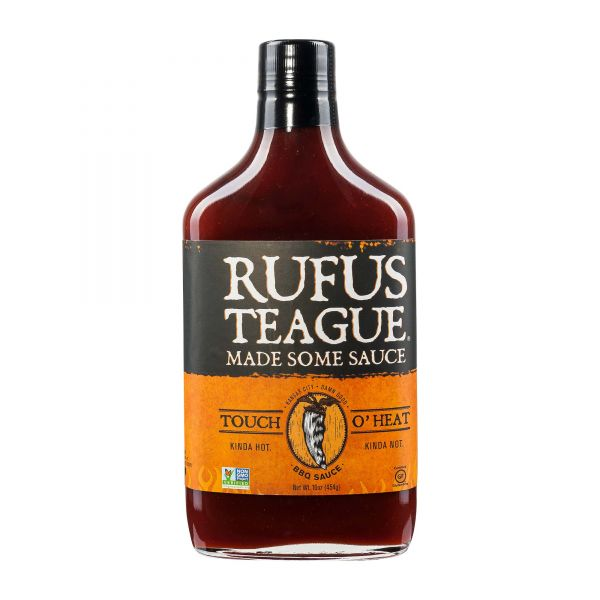 Rufus Teague | Touch O'Heat BBQ Sauce | 454g