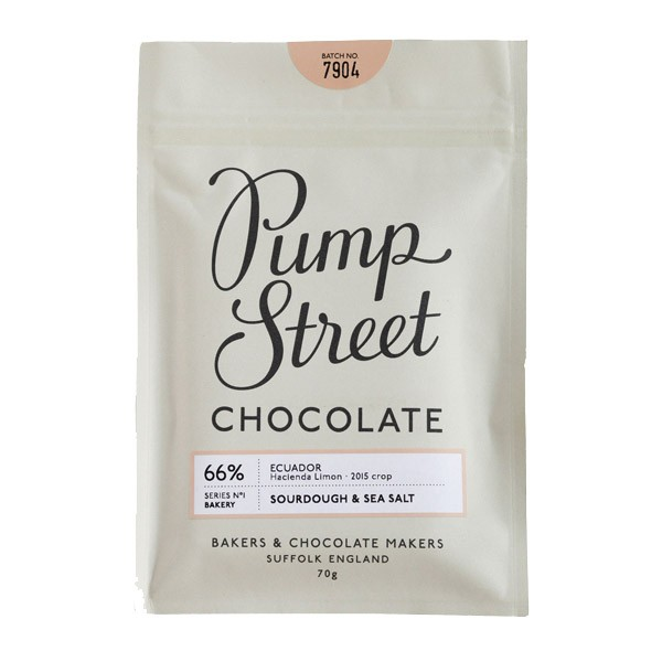 Pump Street Chocolate | Sourdough & Sea Salt 66%