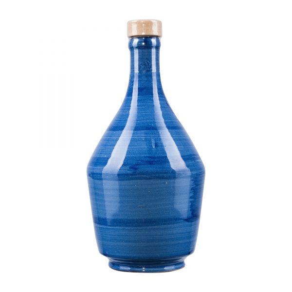 Frantoio di Perna | Olivenöl Extra Nativ | in Keramikflasche blau | 500ml