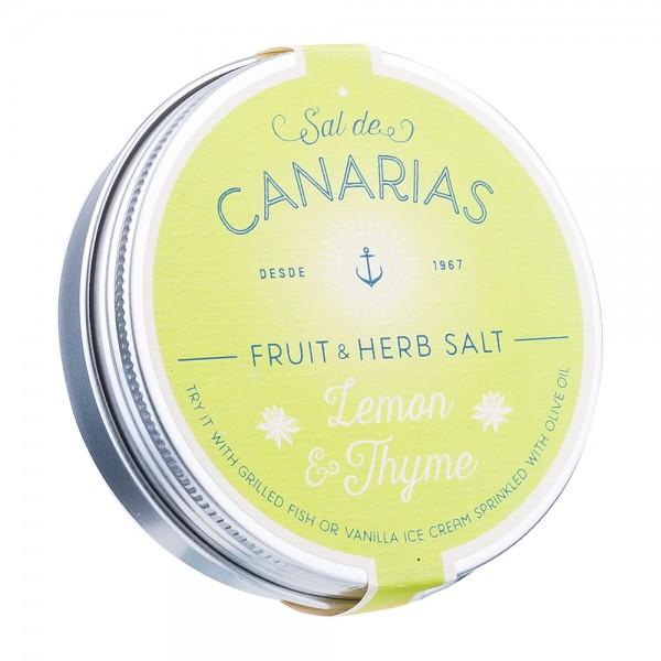Sal de Canarias Meersalz Zitrone & Thymian