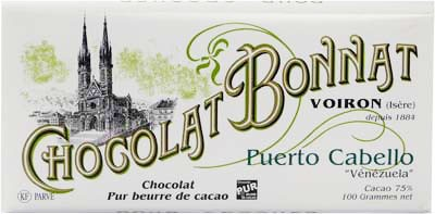 Bonnat Schokolade Puerto Cabello Venezuela 75%