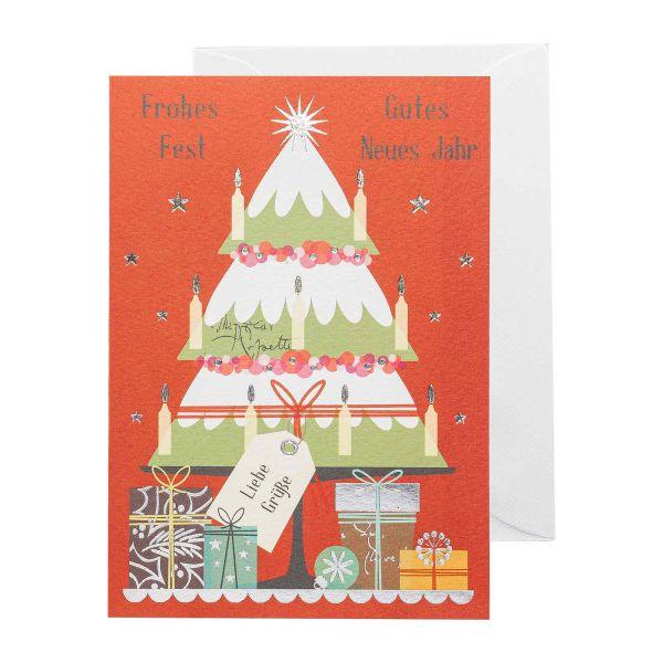 Weihnachtskarte | Frohe Weihnachten | Modern