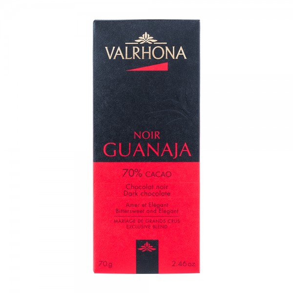Valrhona | dunkle Schokolade | Noir Guanaja | 70g