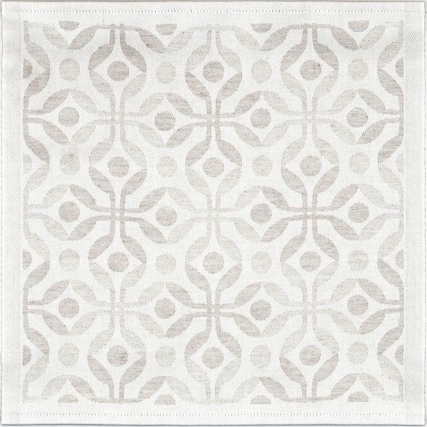 Ekelund | Anna natur Deckchen | 35x35cm