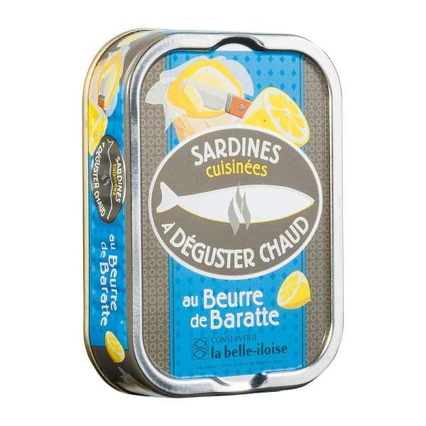 La belle-iIloise   Sardinen zum Braten mit Fassbutter   115g