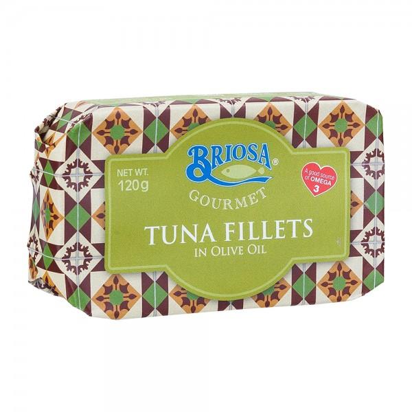Briosa Gourmet | Thunfischfilet in Olivenöl | 120g