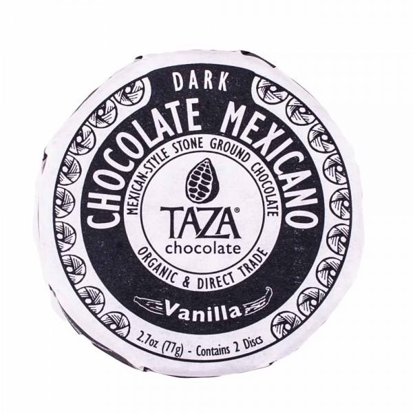 Taza Chocolate Dunkle Schokolade Vanille [BIO]