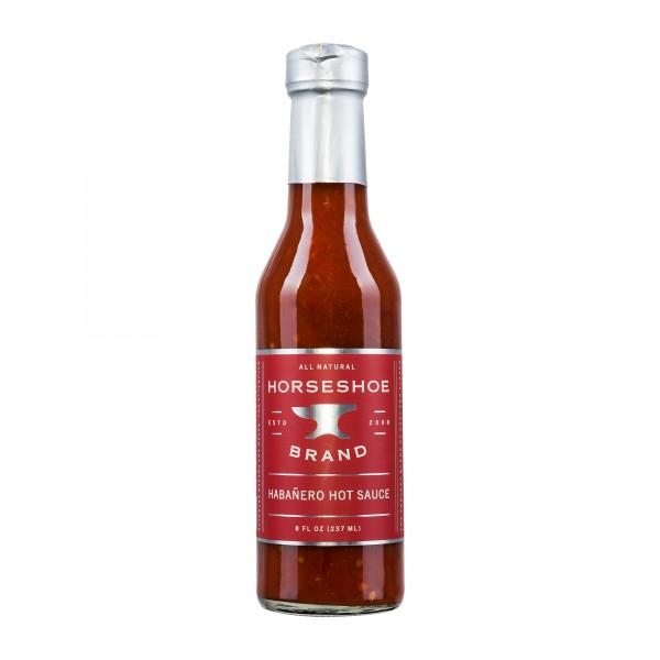 Horseshoe Brand | Habanero Hot Sauce | Chilisauce | 237ml