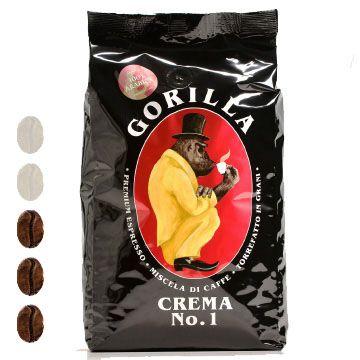 Gorilla Kaffee | Crema No. 1 | Schwarz | 1kg