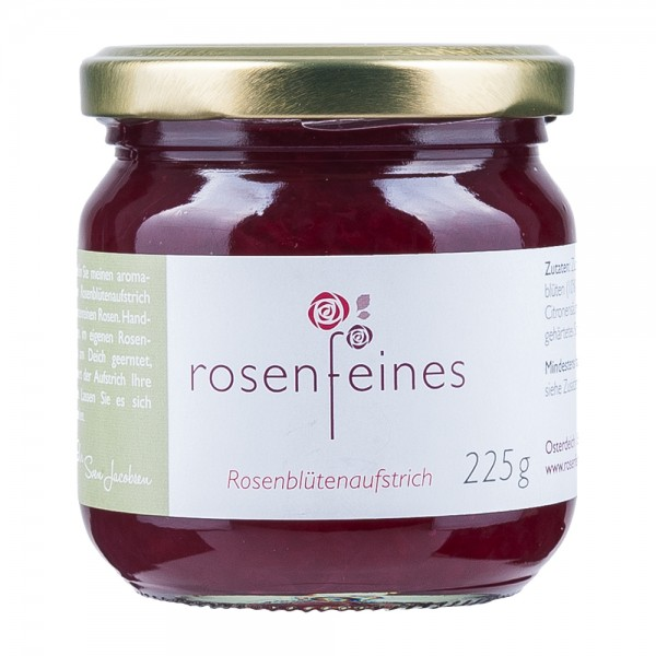 Rosenfeines Rosenblütenaufstrich Sylter Rose