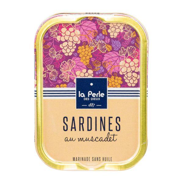 La Perle des Dieux   Sardinen mit Muscadet
