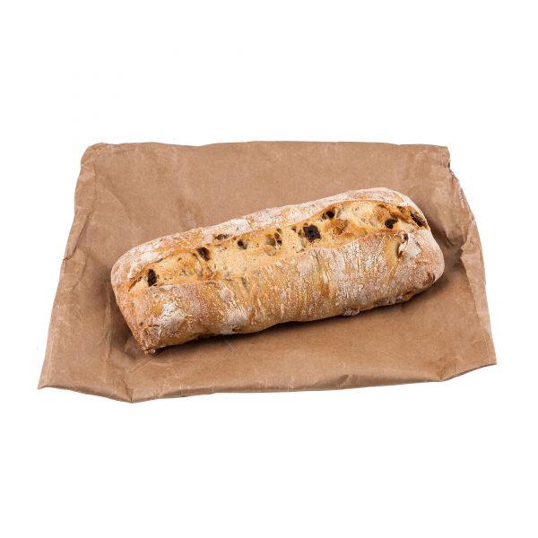 Pavé Brot mit Aprikose und Haselnuss