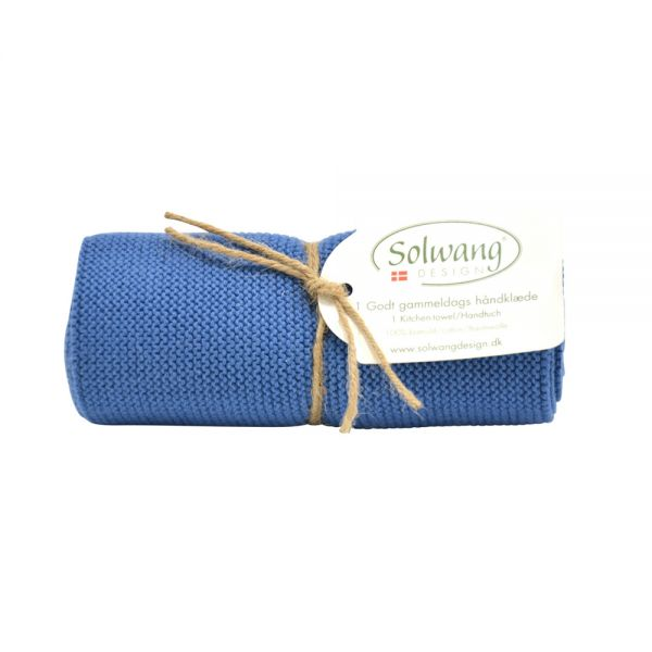 Solwang   Handtuch   Staubig Blau   H21