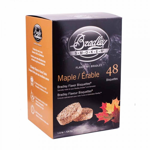 Bradley Smoker Räucher Bisquetten Maple 48er