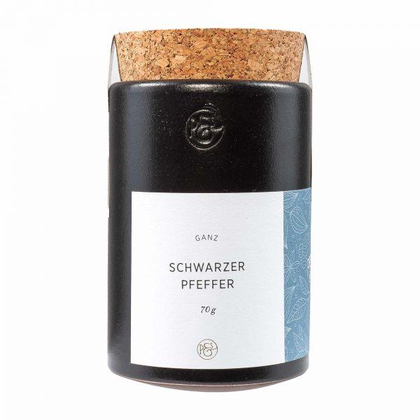 Pfeffersack und Soehne | Schwarzer Pfeffer Keramikdose| 70g