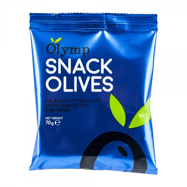 Snack Olives | Kalamata Oliven | Orange & Kräuter