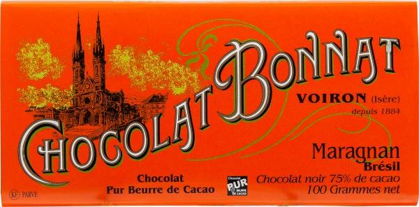 Bonnat Schokolade | Maragnan 75% | Bresil
