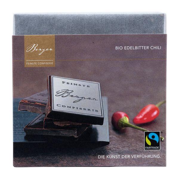 Berger Dunkle Schokolade mit Chili