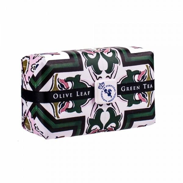 Castelbel | Azulejo | Duftseife | Olivenblätter mit Grünem Tee | 300g