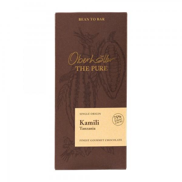 Pure Schokolade von Oberhöller | Kamili Tanzania 75% | 70g