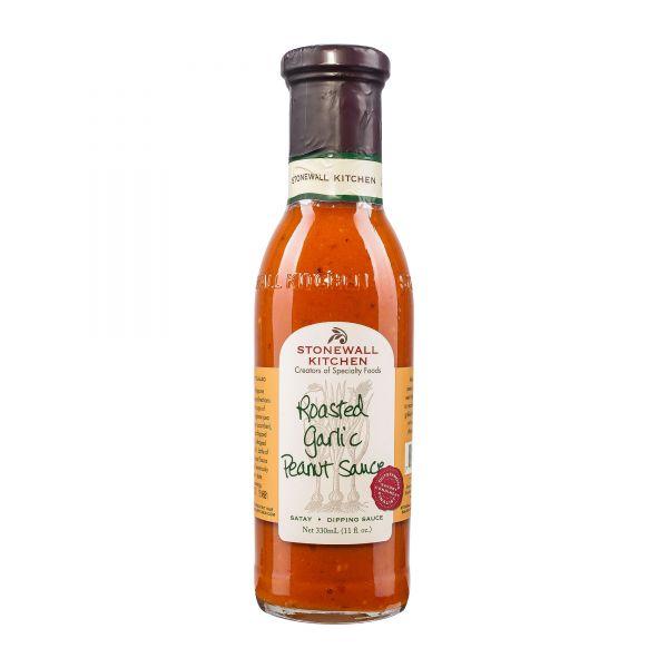 Stonewall Kitchen | Roasted Garlic Peanut Sauce | Erdnusssauce