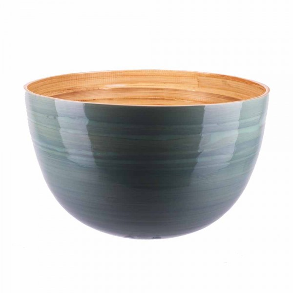 Albert L Schüssel Bambus 30x18 eisblau