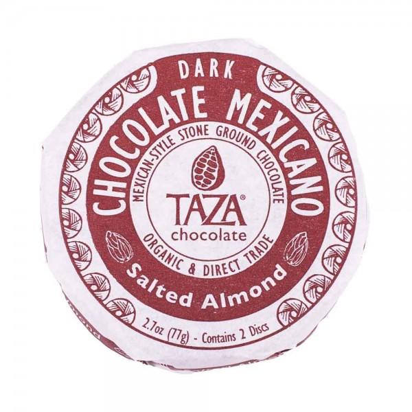 Taza Chocolate Dunkle Schokolade mit gesalzenen Mandeln [BIO]