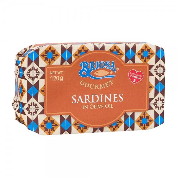 Briosa Gourmet   Sardinen in Olivenöl   120g