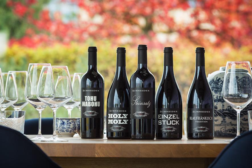 Schneider Wein Kollektion