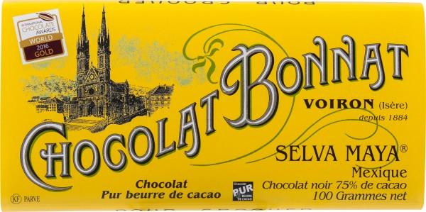 Bonnat Selva Maya Mexique Schokolade