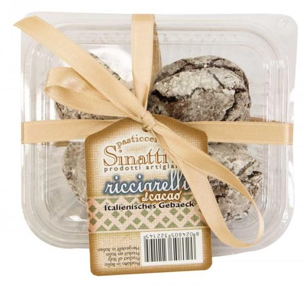 Sinatti   Ricciarelli con cacao   Mandelgebäck   140g