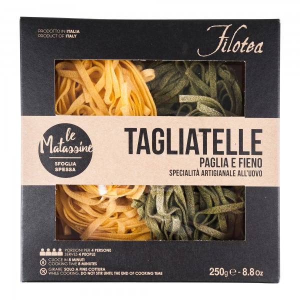 Pasta Filotea | Tagliatelle Paglia e Fieno