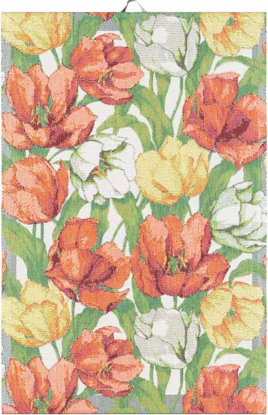 Ekelund   Blommande Tulpaner Handtuch   40x60cm