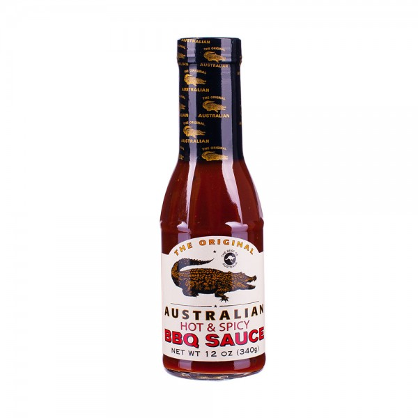The Original Australian | BBQ Sauce hot & spicy | Grillsauce | 355ml