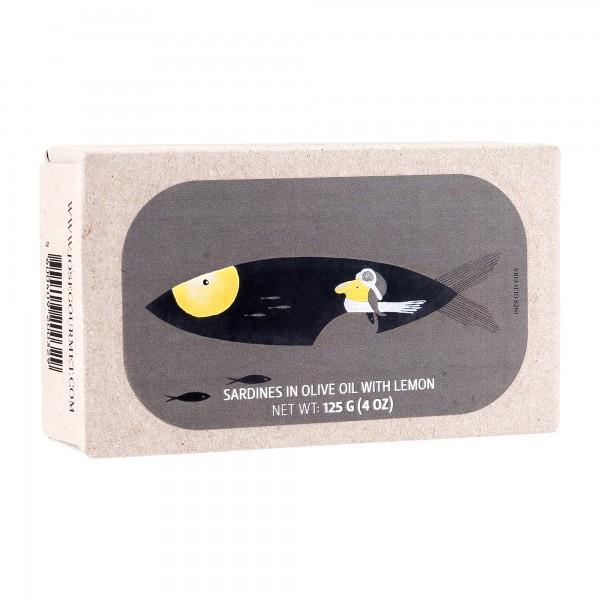 José Gourmet | Sardinen mit Zitrone in Olivenöl