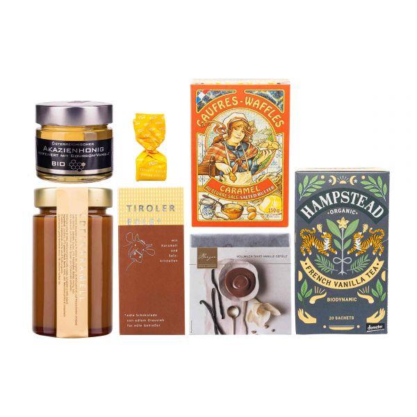 Geschenkbox   Vanille und Karamell